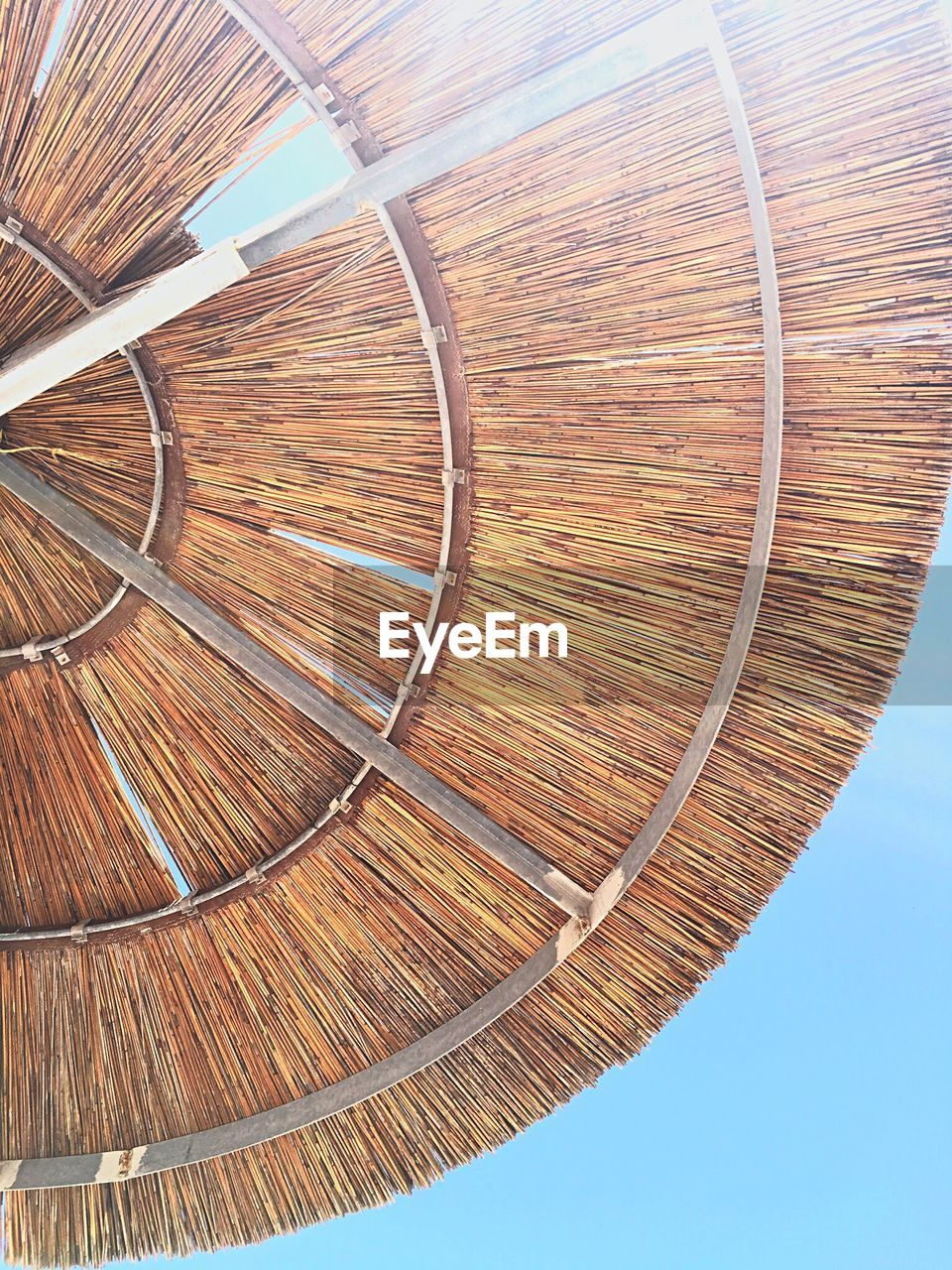 Low angle view of sunshade