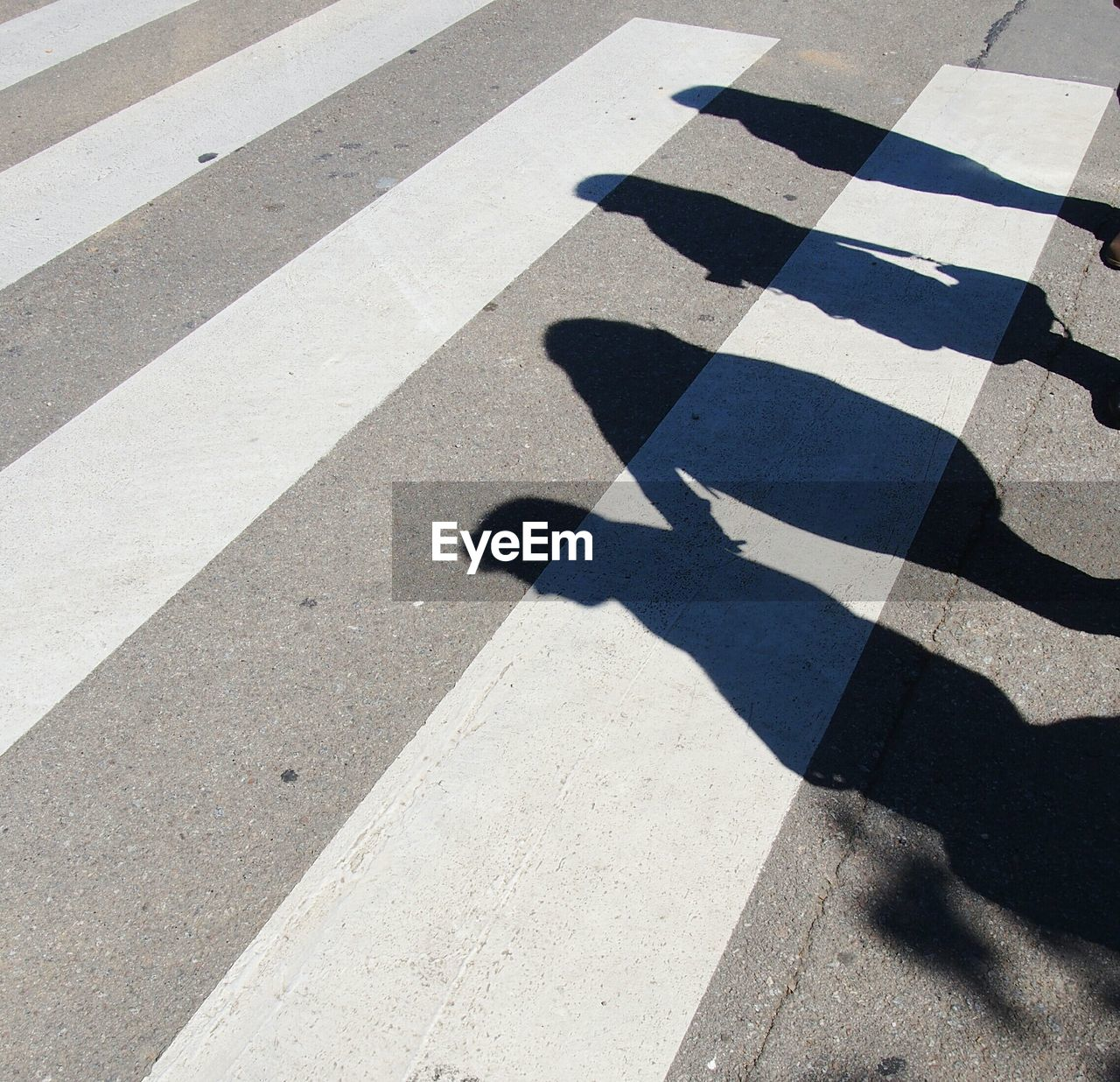 Close-Up Of Shadows On The Ground
