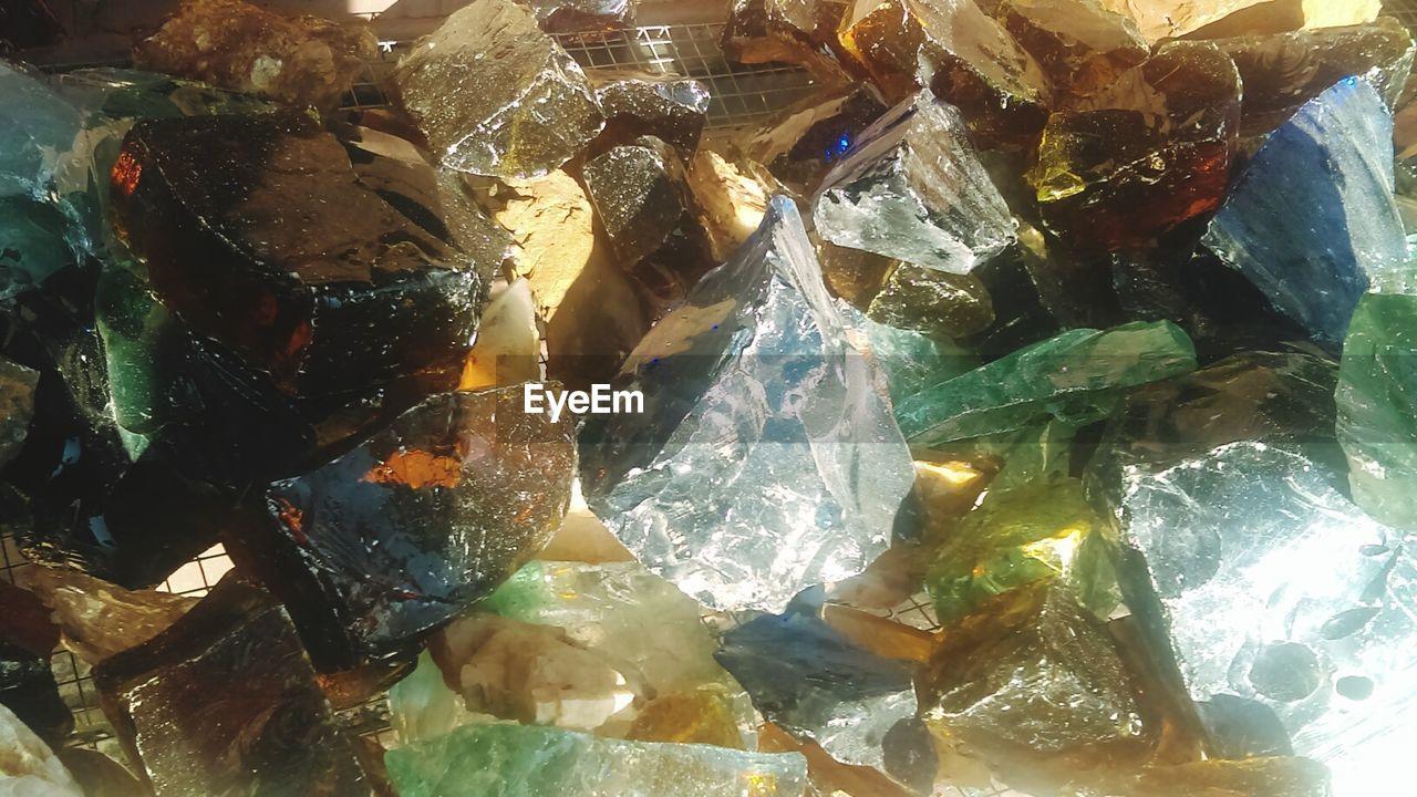 gemstone, crystal, no people, quartz, ice cube, indoors, close-up, day