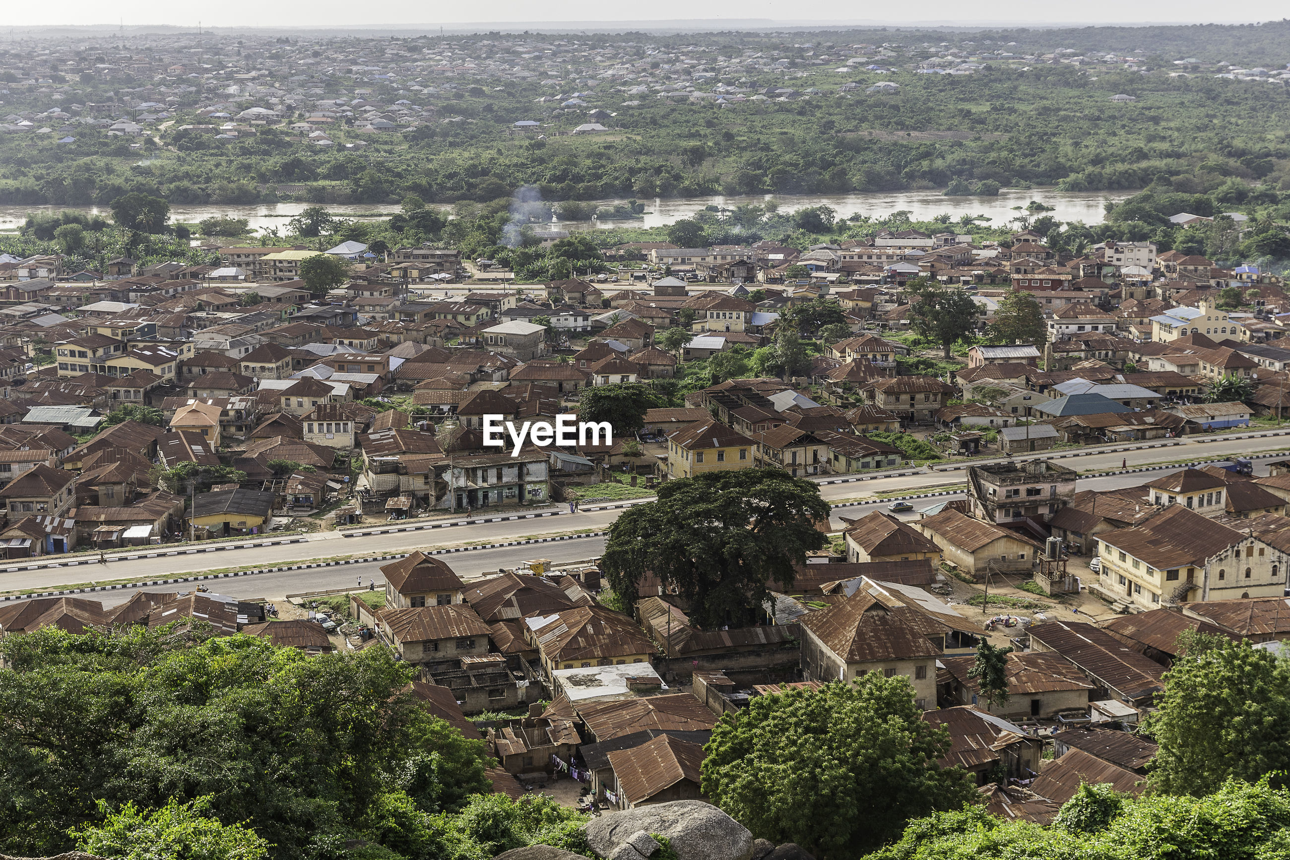 Olumo rock, located in the ancient town of abeokuta, in south-western nigeria.