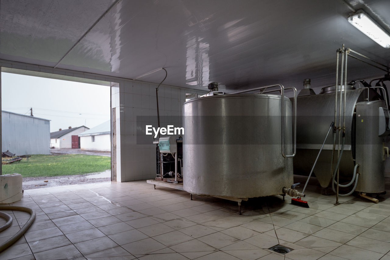 Storage Tanks In Industry