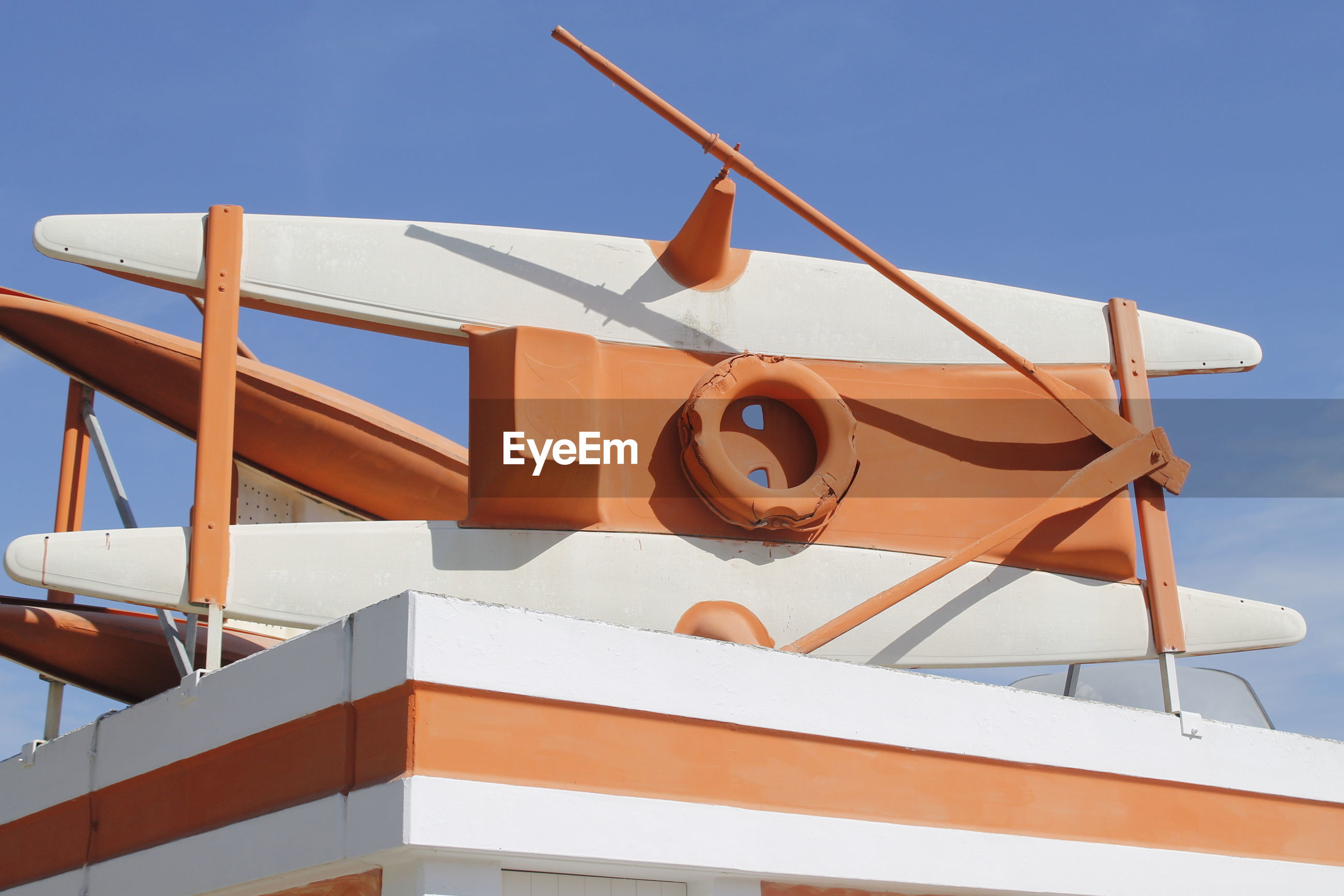 LOW ANGLE VIEW OF BUILT STRUCTURES AGAINST SKY