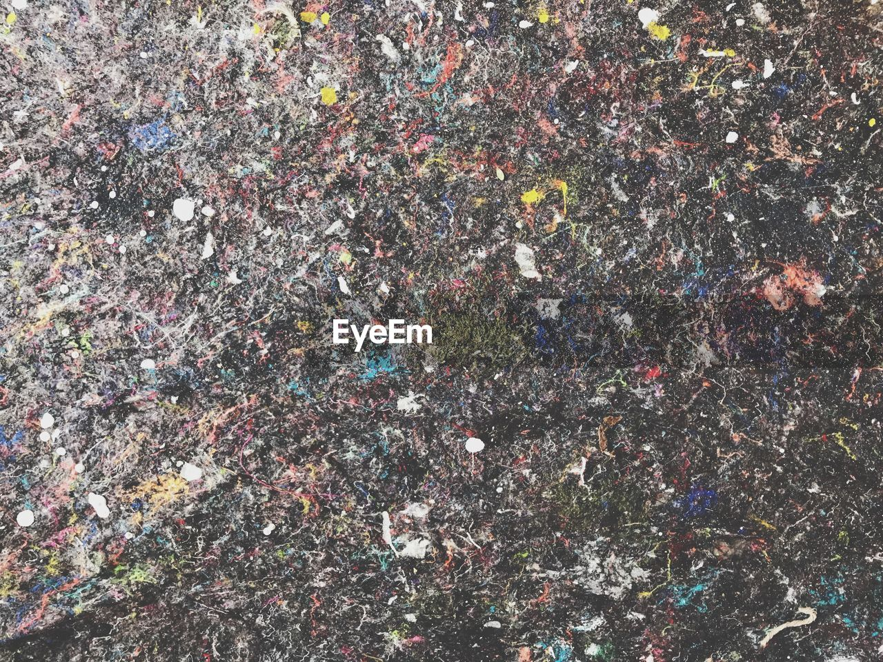 full frame, backgrounds, multi colored, high angle view, no people, day, outdoors, textured, pattern, nature, close-up, directly above, celebration, environment, paper, city, messy, confetti, rough, pollution