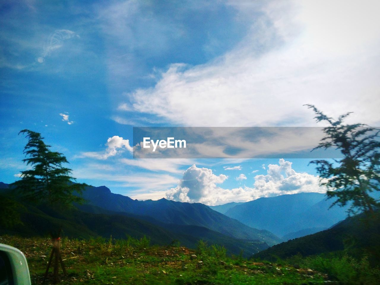 mountain, sky, beauty in nature, nature, tranquil scene, tranquility, landscape, day, no people, scenics, outdoors, tree