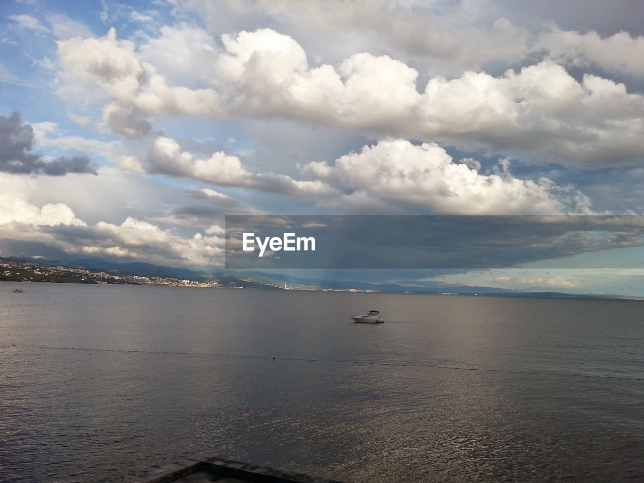 water, sea, cloud - sky, sky, beauty in nature, tranquility, nature, scenics, waterfront, transportation, tranquil scene, outdoors, day, no people, nautical vessel, horizon over water