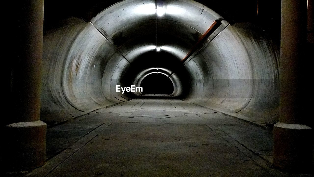 the way forward, empty, tunnel, indoors, pipe - tube, illuminated, architecture, no people, built structure, basement, day