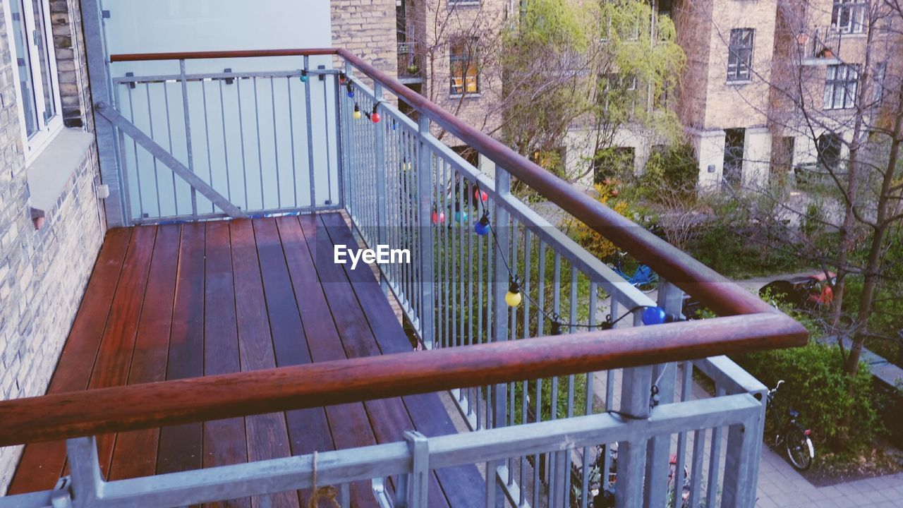 railing, architecture, built structure, steps and staircases, steps, day, bridge - man made structure, outdoors, no people, tree, building exterior, nature, city