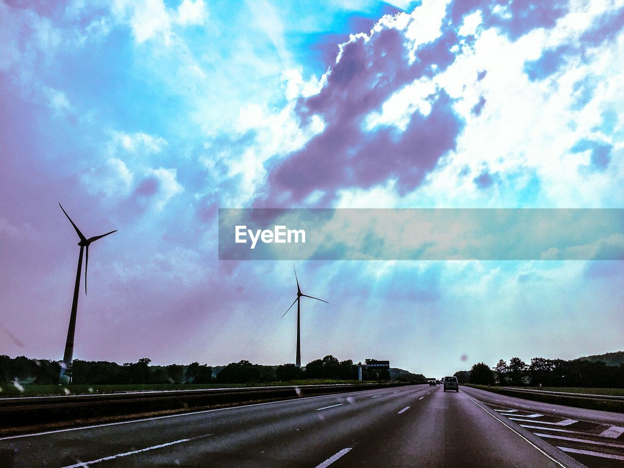 environmental conservation, wind turbine, alternative energy, wind power, windmill, renewable energy, cloud - sky, sky, fuel and power generation, road, the way forward, industrial windmill, no people, day, outdoors, rural scene, nature