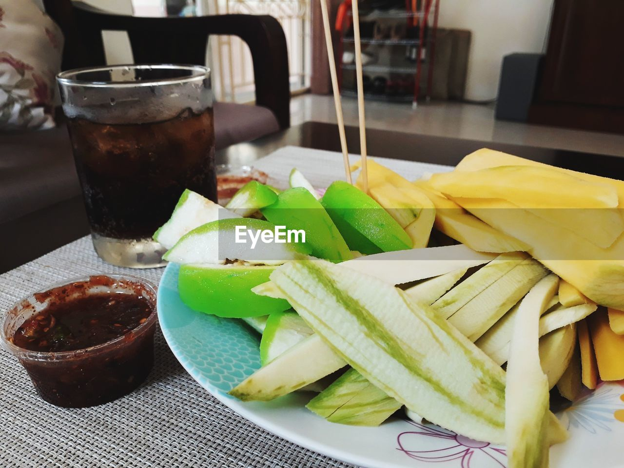 food and drink, freshness, food, indoors, drink, table, drinking glass, ready-to-eat, glass, serving size, close-up, healthy eating, household equipment, refreshment, still life, plate, vegetable, wellbeing, no people, focus on foreground, snack, temptation