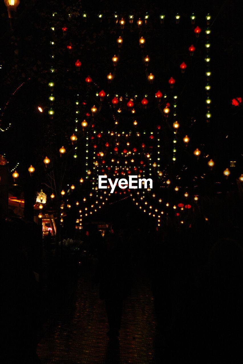 illuminated, night, celebration, christmas, christmas decoration, christmas lights, outdoors, no people