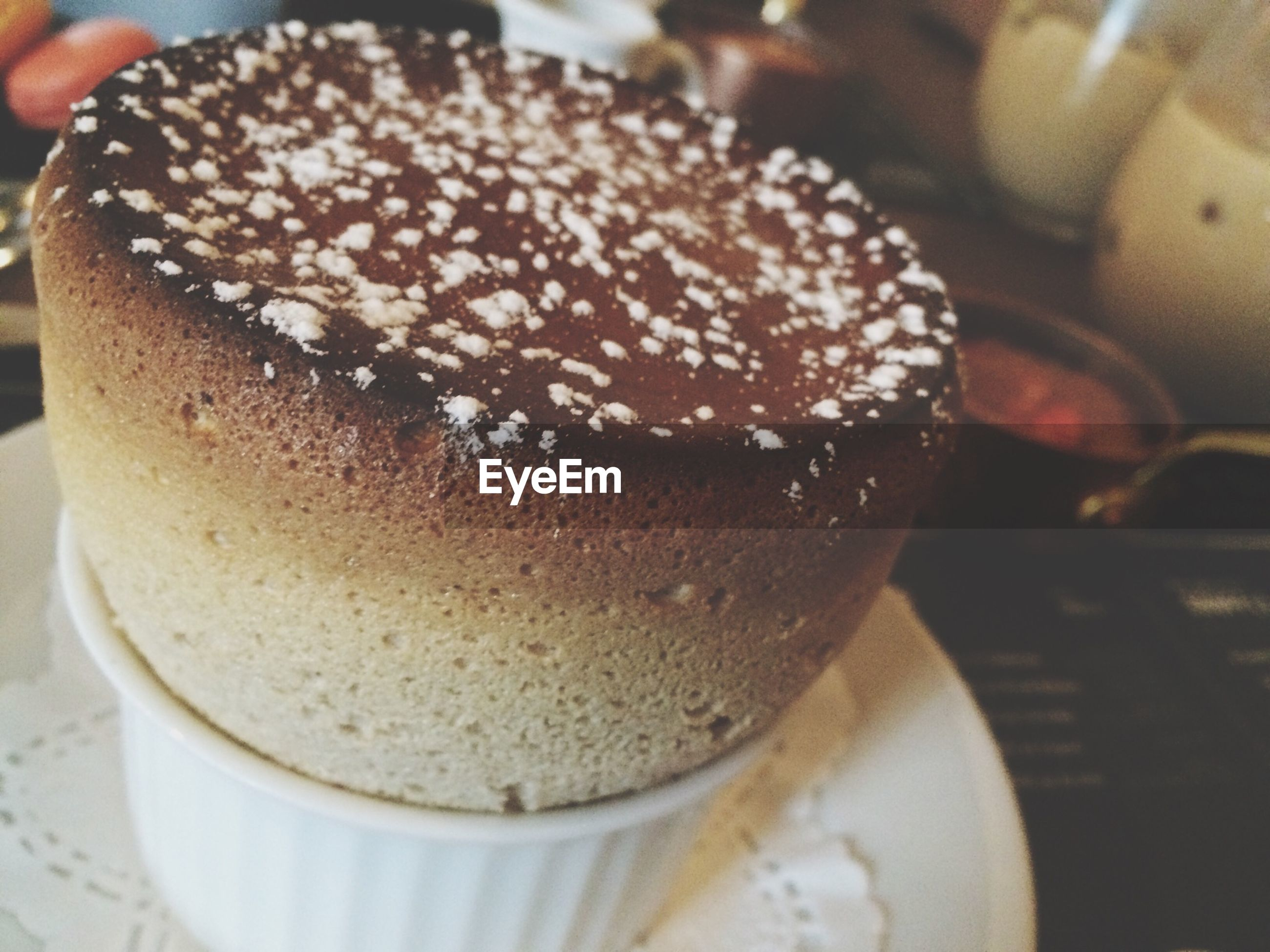 food and drink, freshness, drink, indoors, refreshment, close-up, coffee cup, sweet food, still life, dessert, coffee - drink, table, frothy drink, indulgence, cake, focus on foreground, food, unhealthy eating, saucer, selective focus