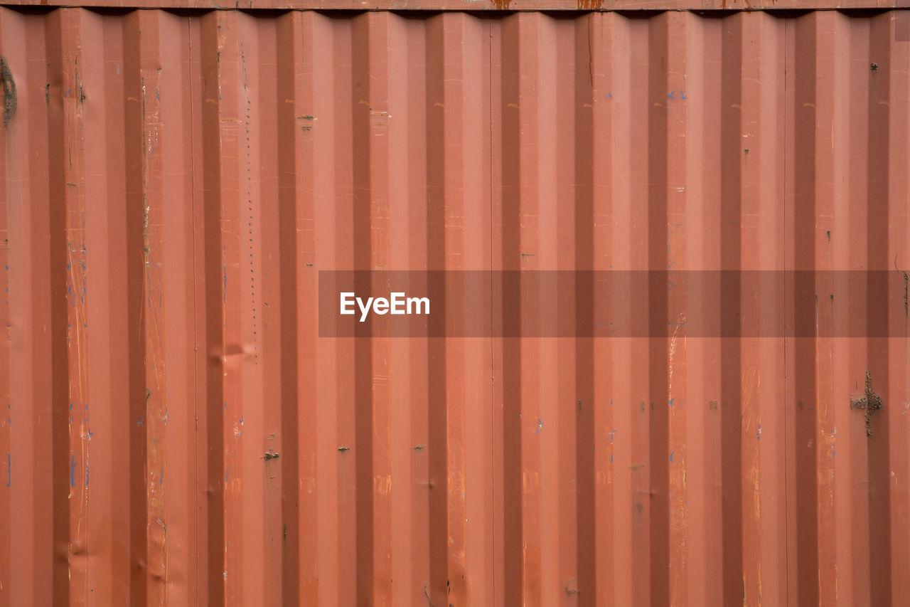 Full Frame Shot Of Corrugated Metal