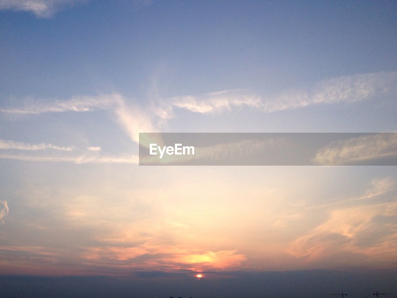 nature, beauty in nature, sky, scenics, tranquility, tranquil scene, cloud - sky, no people, idyllic, sunset, outdoors, backgrounds, low angle view, day