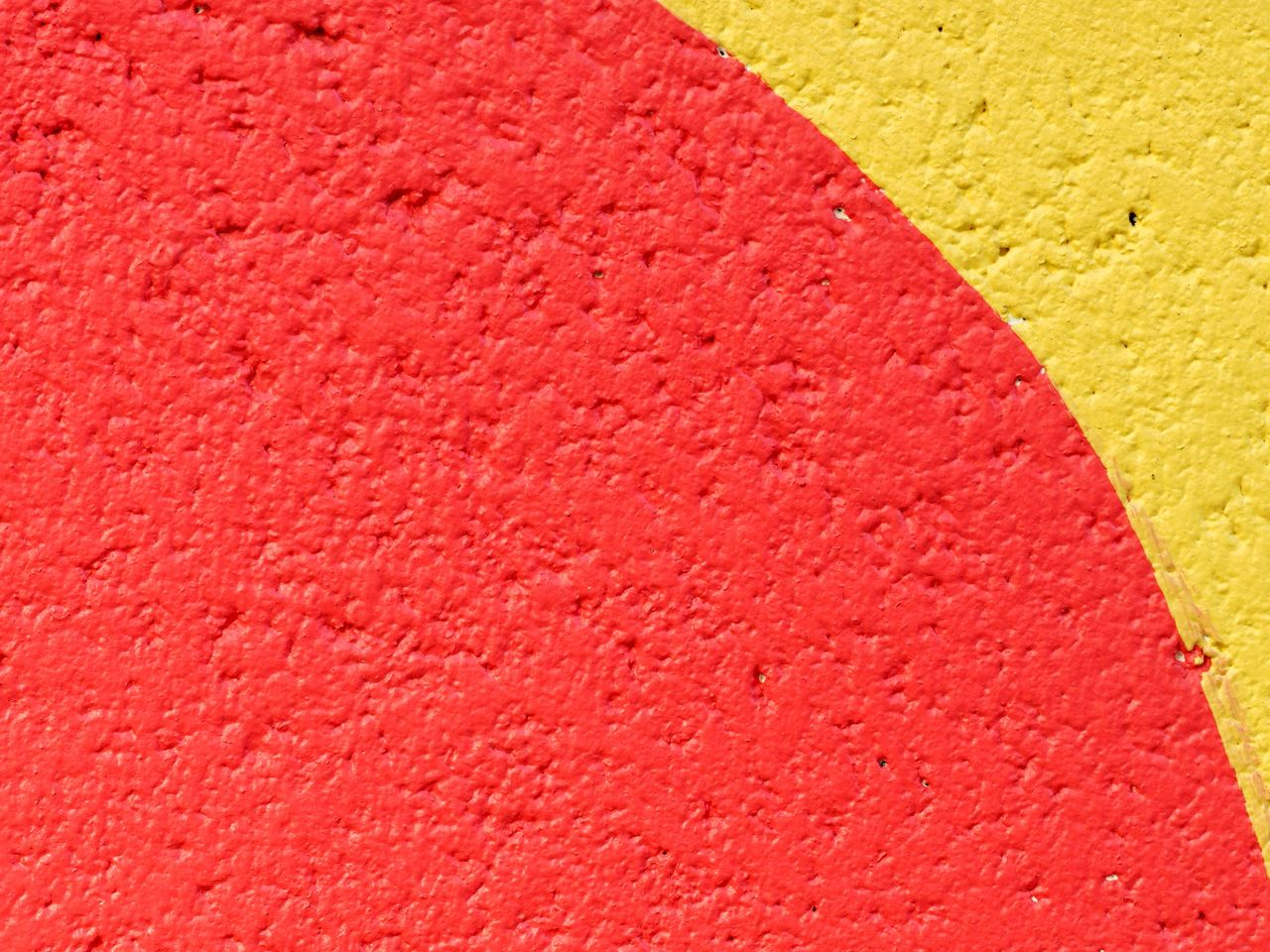 yellow, close-up, red, textured, no people, full frame, backgrounds, wall - building feature, multi colored, built structure, day, pattern, architecture, outdoors, copy space, vibrant color, wall, rough, pink color, high angle view