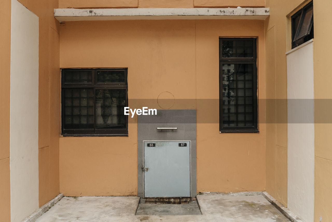 Locker In Building