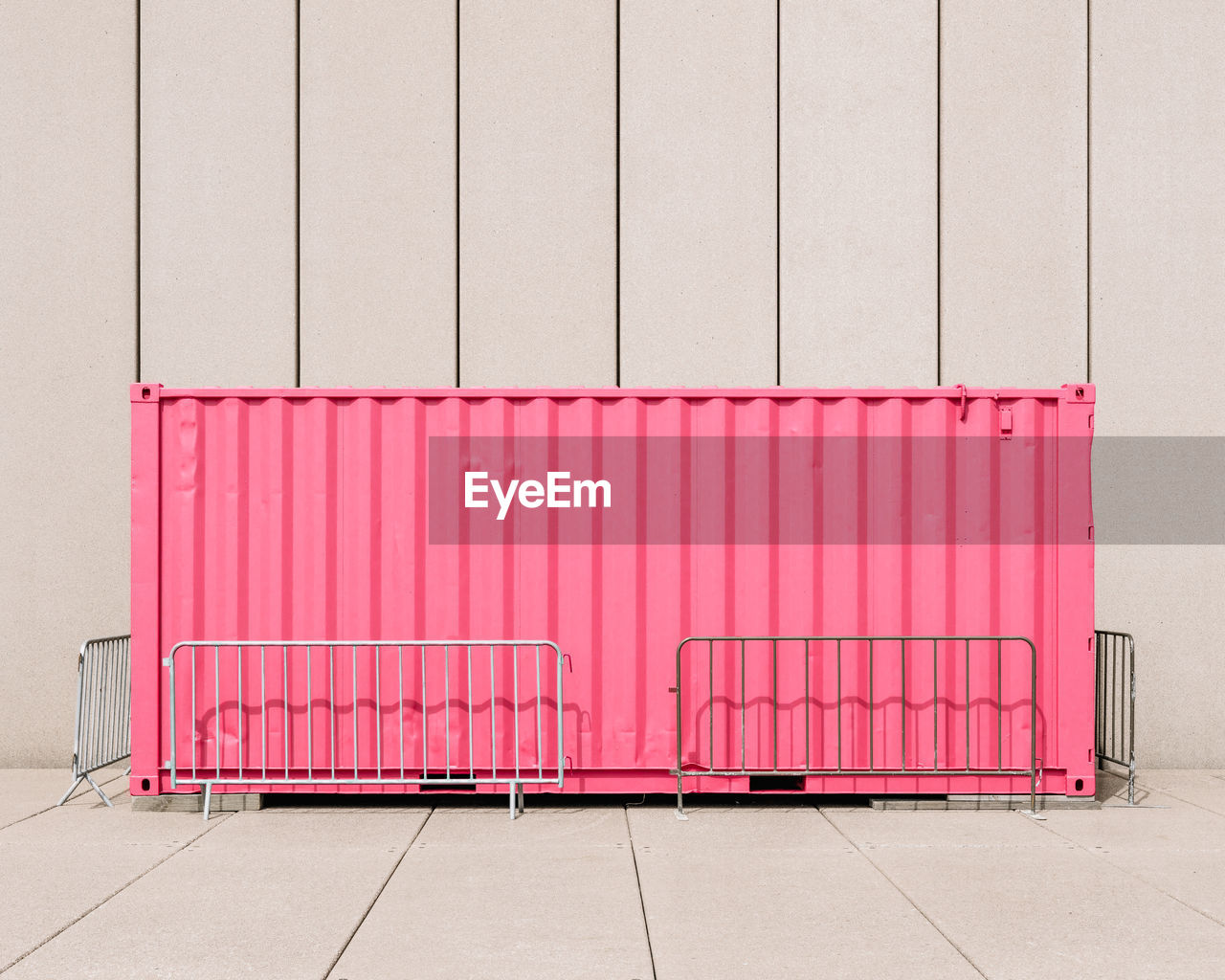 architecture, no people, pink color, wall - building feature, built structure, day, side by side, industry, stack, large group of objects, outdoors, building exterior, freight transportation, domestic room, business, metal, container, red, transportation, warehouse