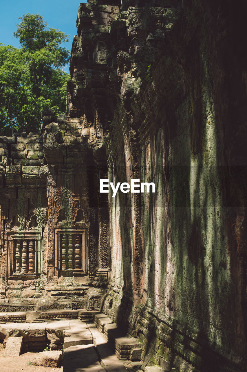 architecture, history, built structure, the past, ancient, old ruin, ancient civilization, place of worship, tree, tourism, travel, travel destinations, religion, belief, nature, building, no people, plant, old, outdoors, archaeology, ruined