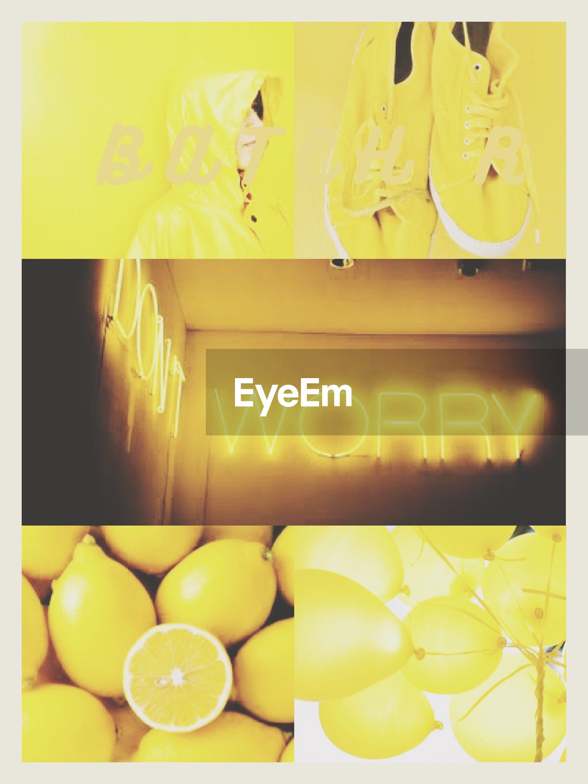 transfer print, auto post production filter, indoors, yellow, food and drink, variation, large group of objects, food, still life, close-up, high angle view, choice, lifestyles, abundance, multi colored, retail, reflection, men