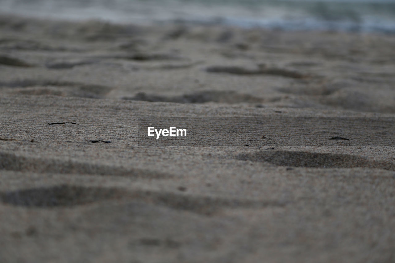 sand, beach, selective focus, no people, nature, outdoors, close-up, day, textured, backgrounds