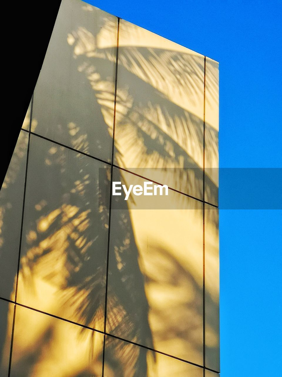sky, architecture, built structure, building exterior, nature, sunlight, low angle view, no people, day, building, reflection, office building exterior, outdoors, glass - material, city, modern, office, clear sky, blue, shape, skyscraper