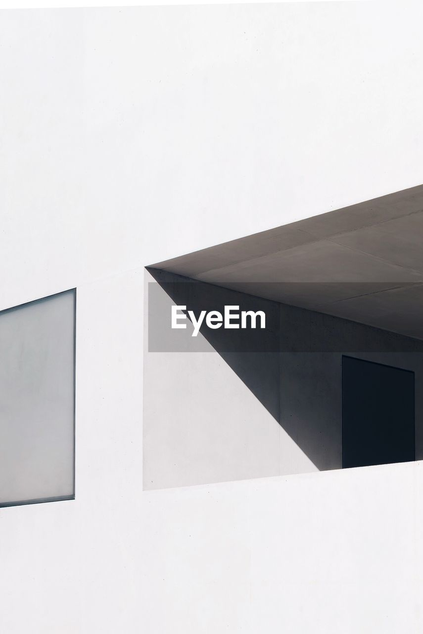 Low Angle View Of Window Of Modern Building