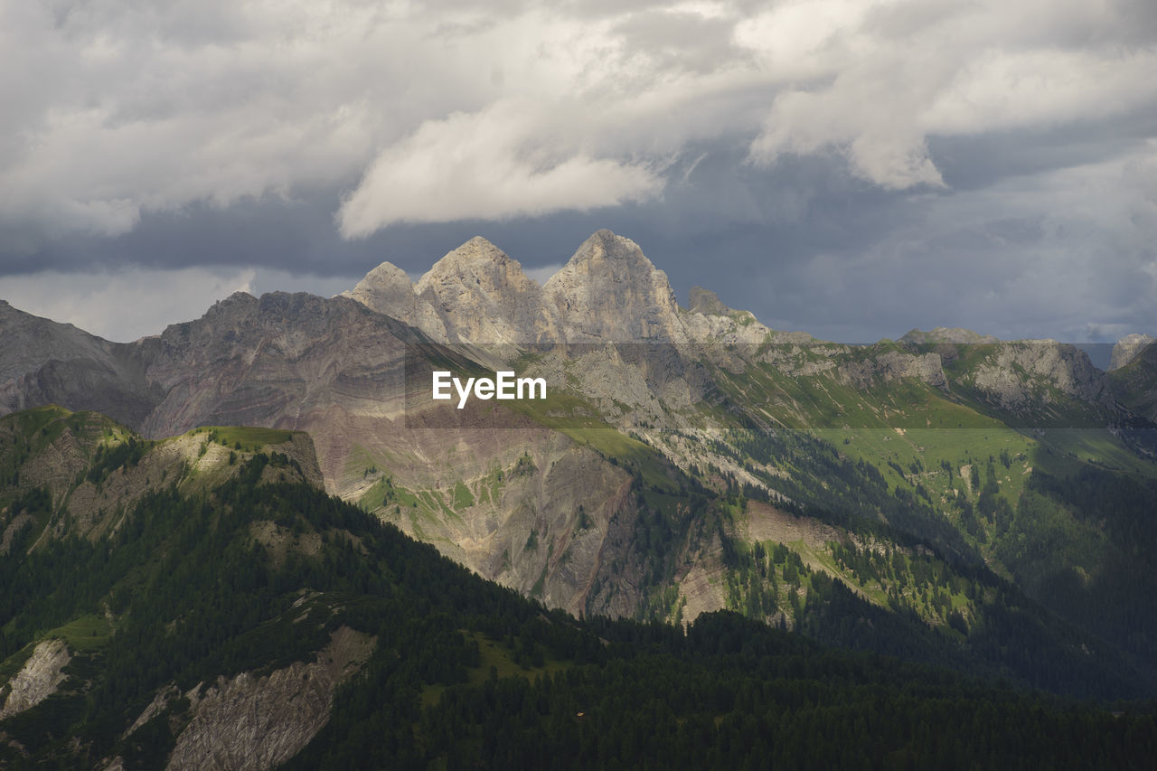 Mountains With Sky In Background