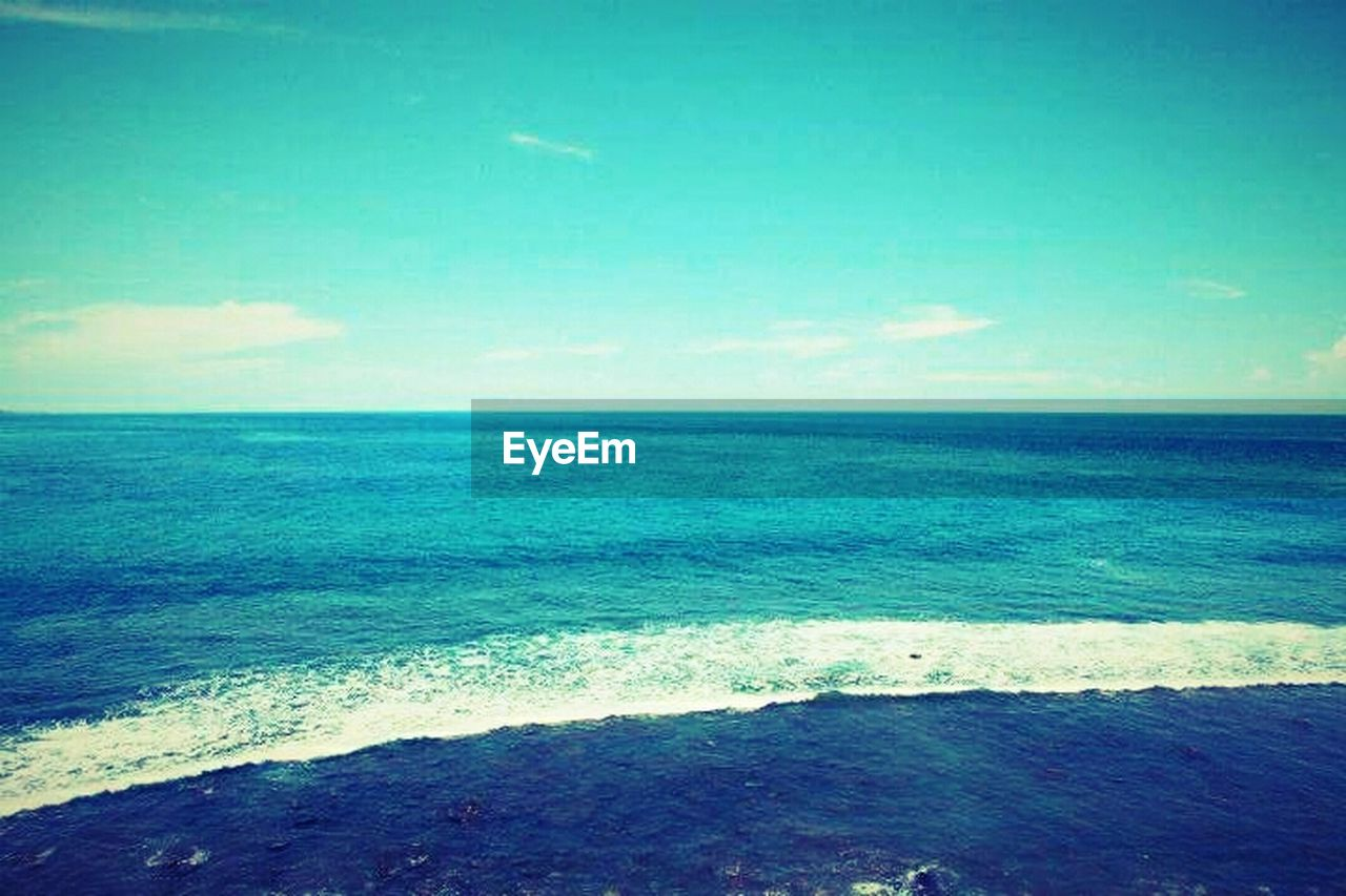 sea, horizon over water, beauty in nature, nature, scenics, water, tranquil scene, tranquility, wave, beach, no people, outdoors, sky, day
