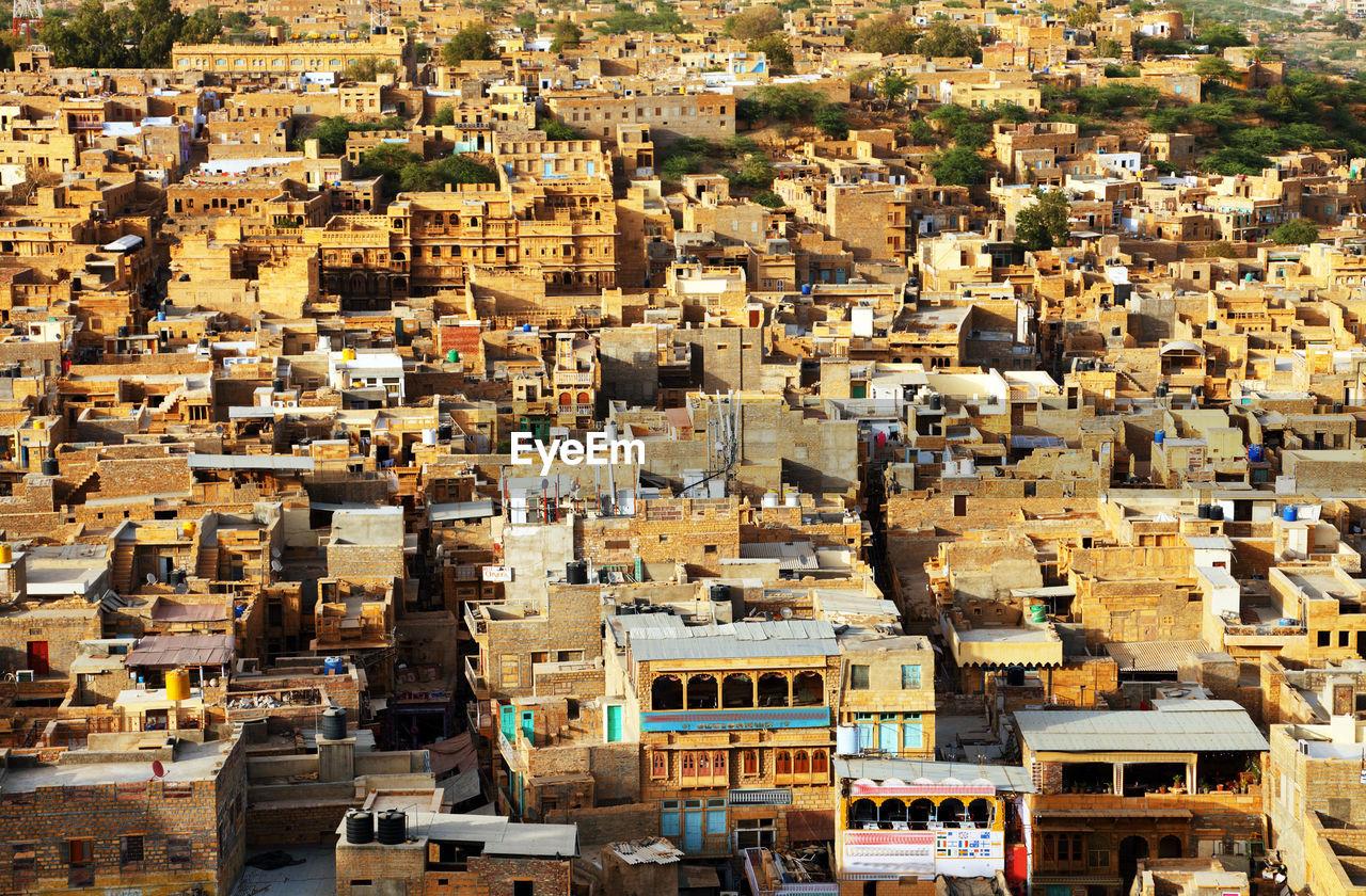 Full Frame Shot Of Townscape