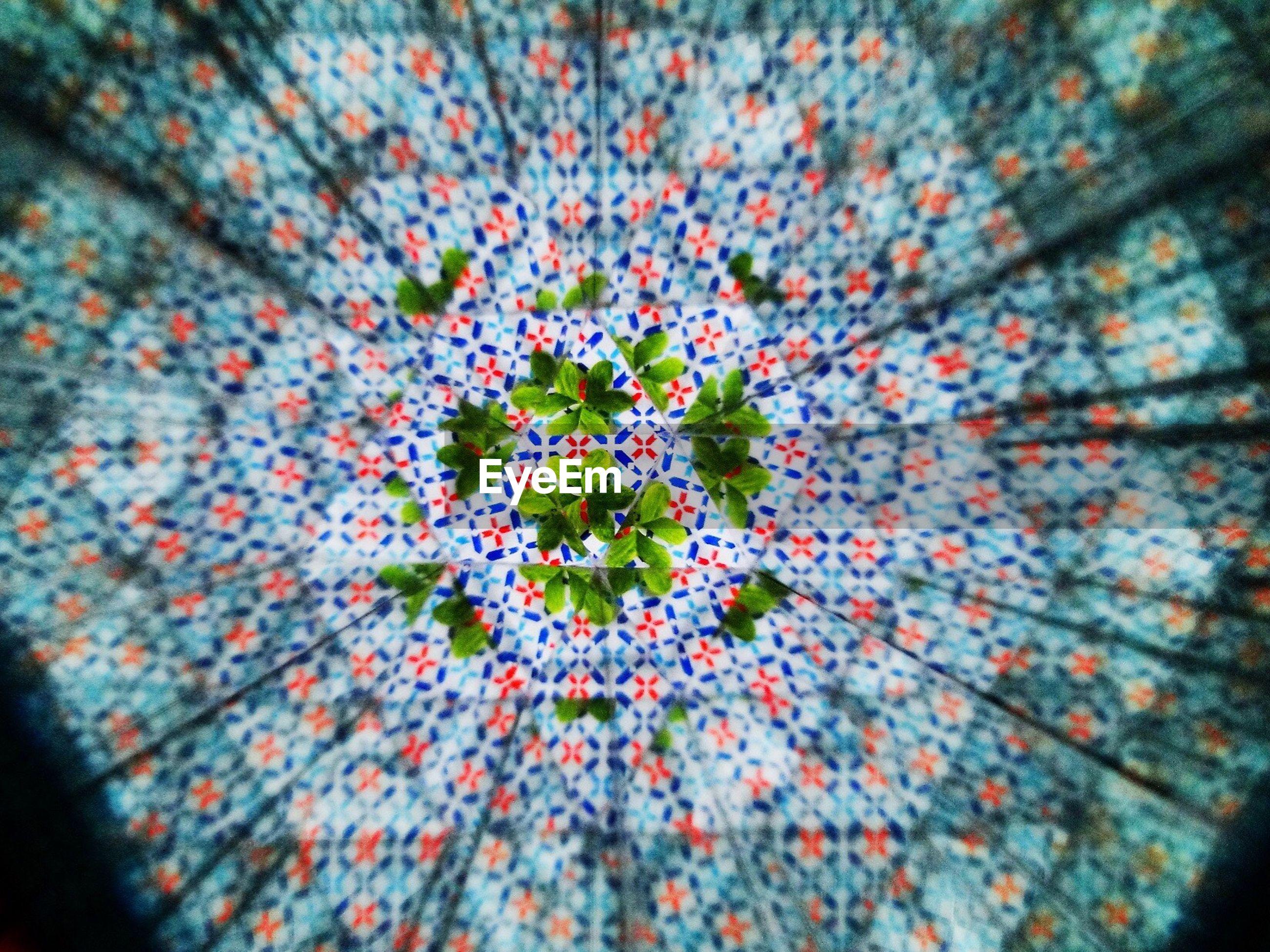 Full frame shot of kaleidoscope