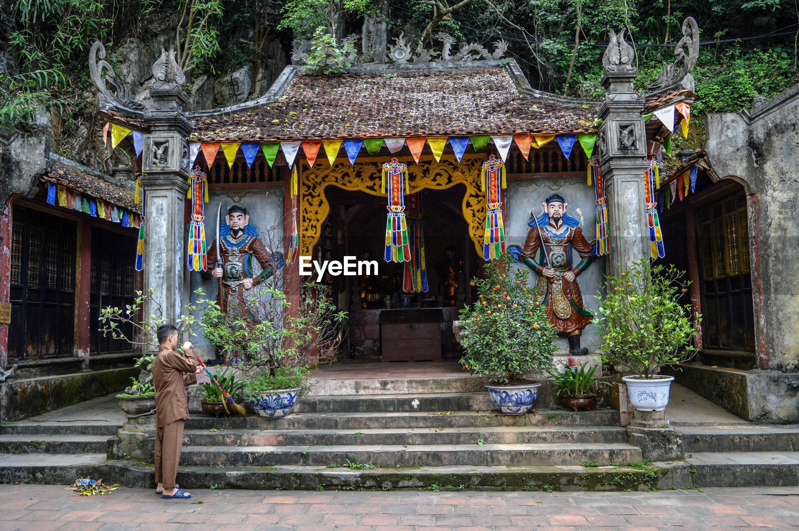 Exterior of shrine