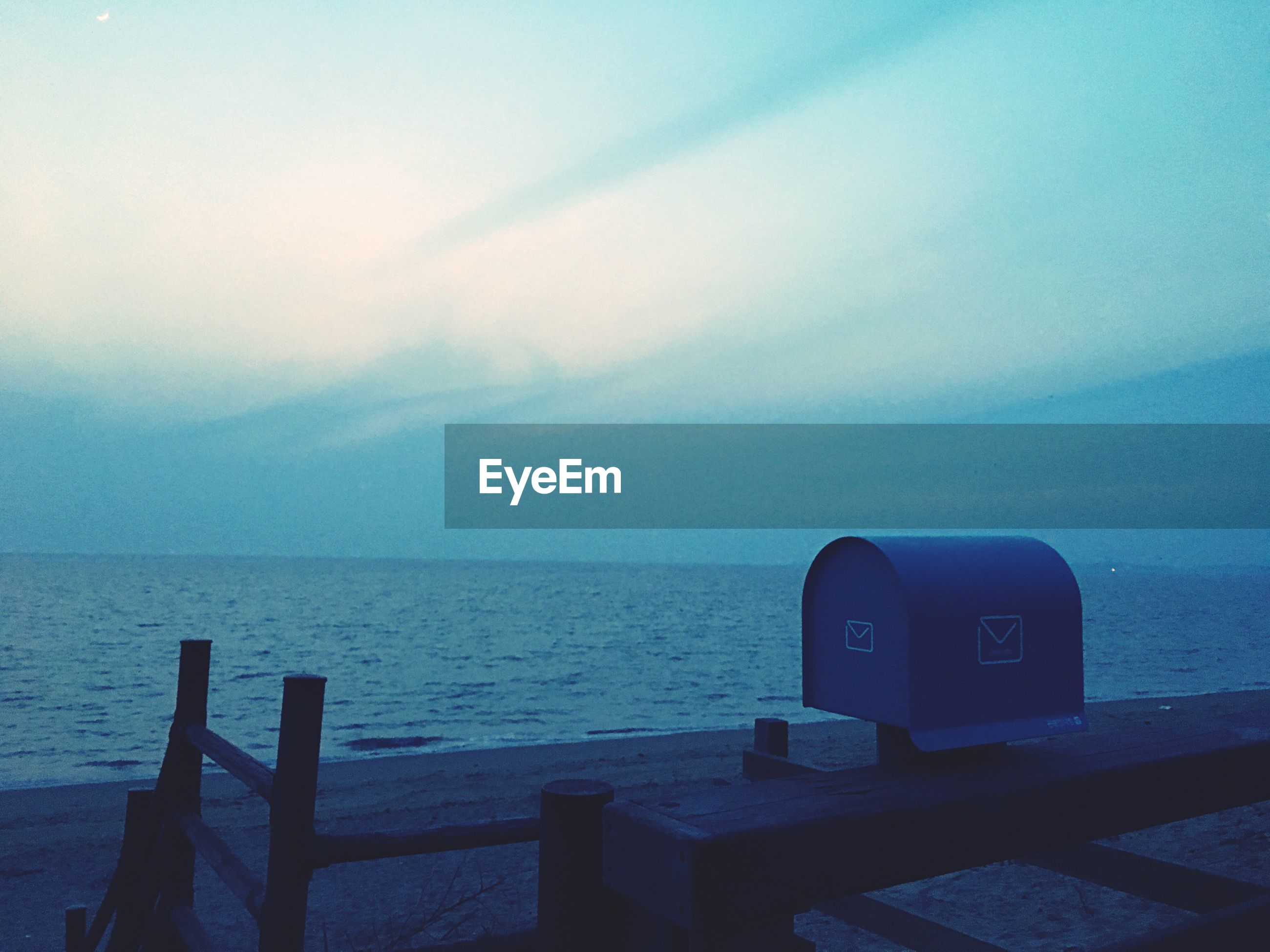 sky, sea, horizon over water, nature, cloud - sky, no people, tranquility, beach, water, scenics, outdoors, technology, coin-operated binoculars, beauty in nature, day