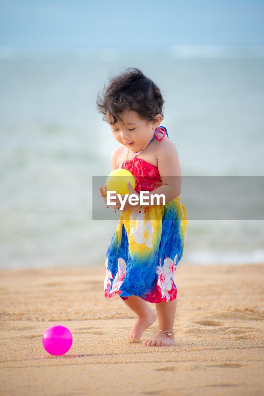 CUTE GIRL AT BEACH