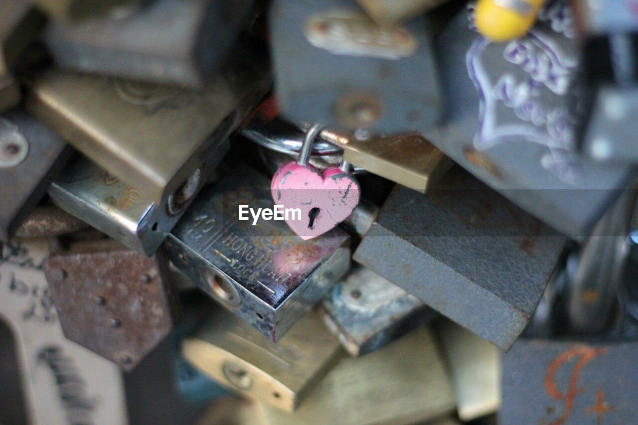 love, padlock, metal, lock, heart shape, love lock, security, hope, safety, protection, no people, close-up, outdoors, day