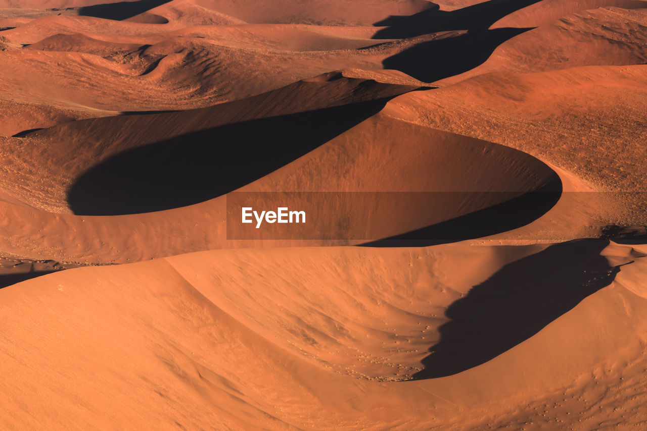 Full Frame Shot Of Sand Dunes