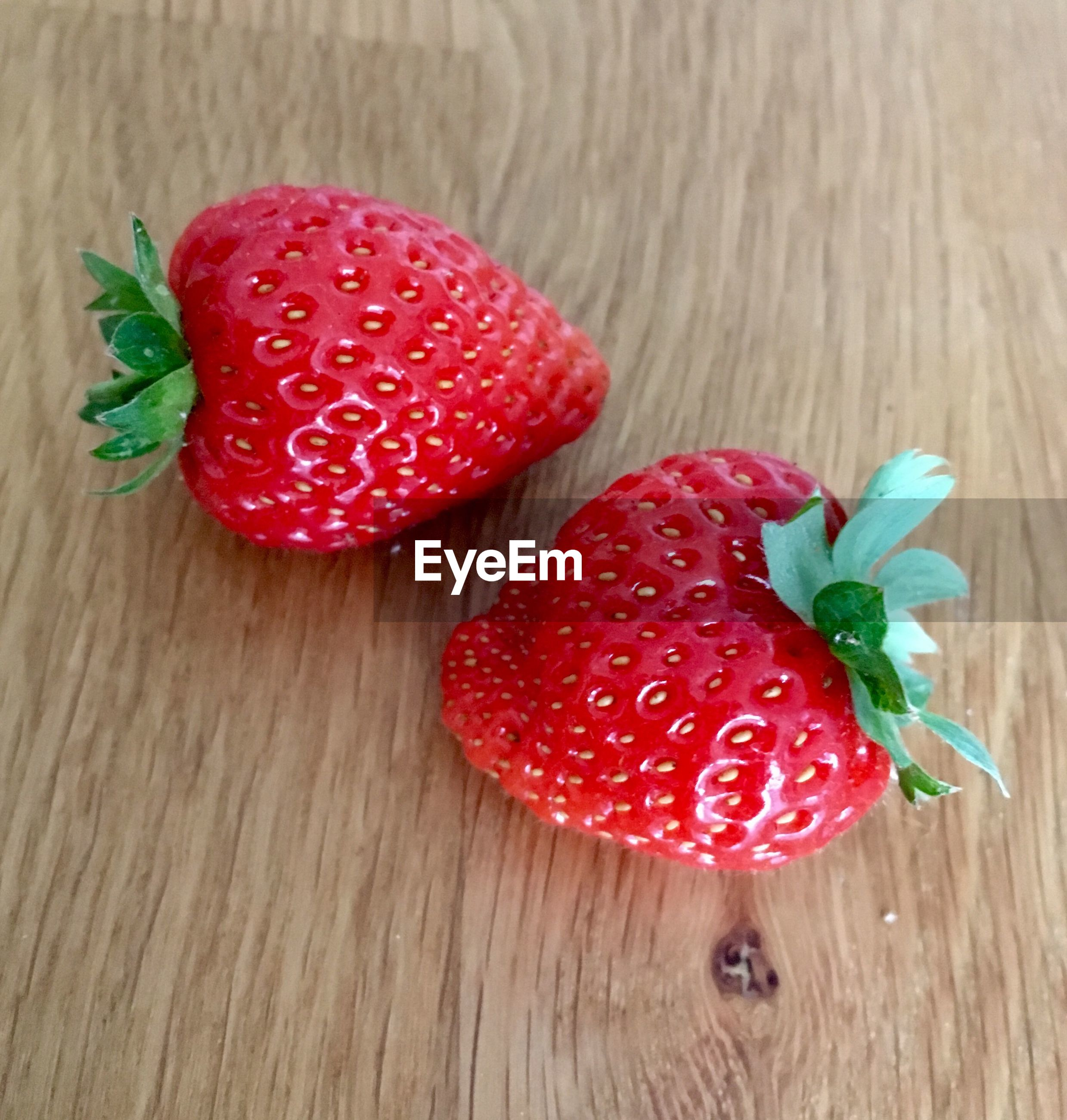 strawberry, fruit, wood - material, red, close-up, wood grain, freshness, no people, healthy eating, indoors, food