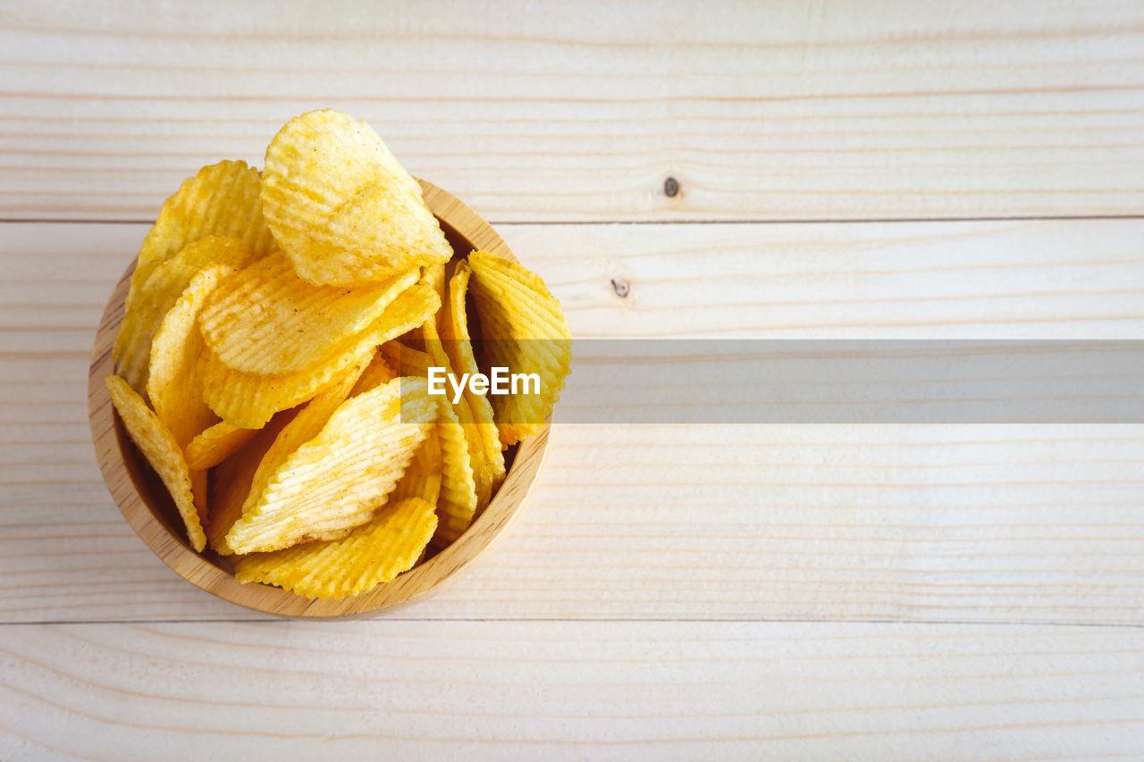 HIGH ANGLE VIEW OF LEMON ON PLATE