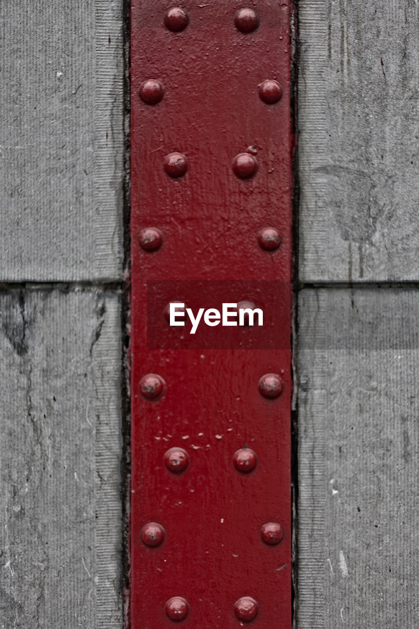 textured, red, backgrounds, close-up, no people, day, outdoors, control panel