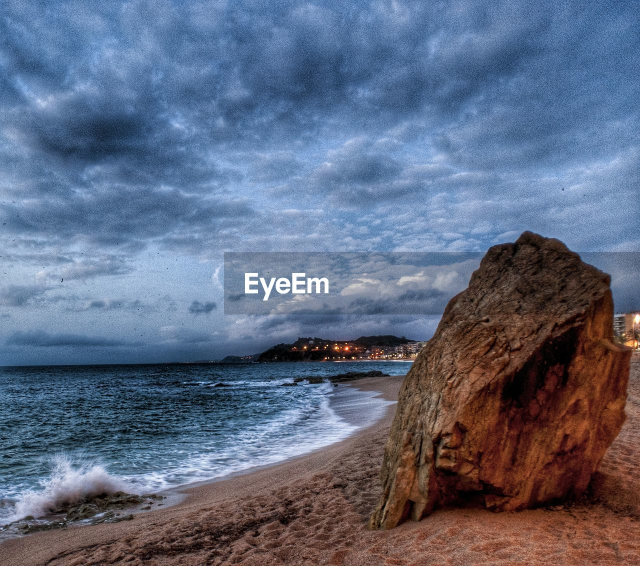 sea, cloud - sky, nature, sky, beauty in nature, no people, rock - object, scenics, beach, outdoors, sand, horizon over water, water, day, wave, storm cloud