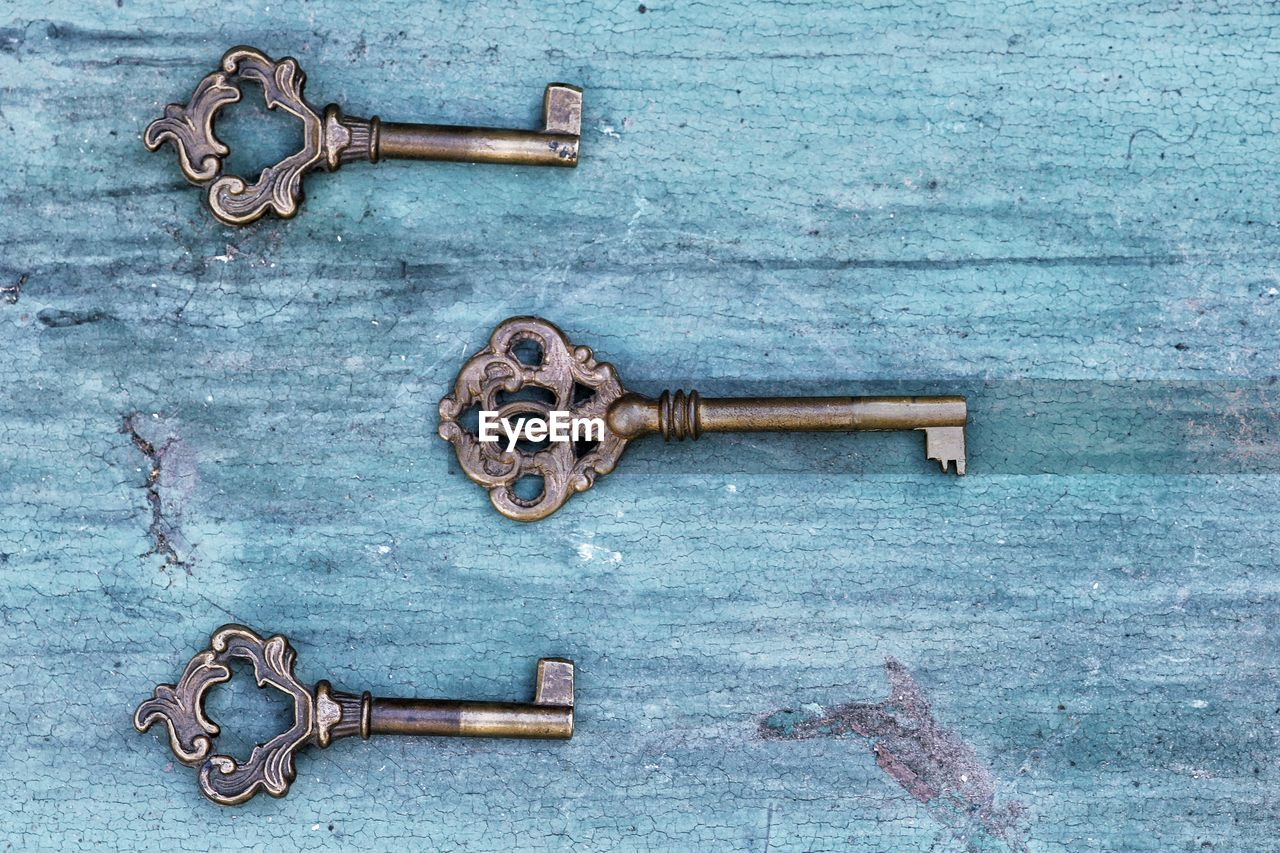 metal, safety, security, protection, rusty, no people, door, close-up, wood - material, entrance, key, latch, old, lock, closed, indoors, day, doorknob, antique