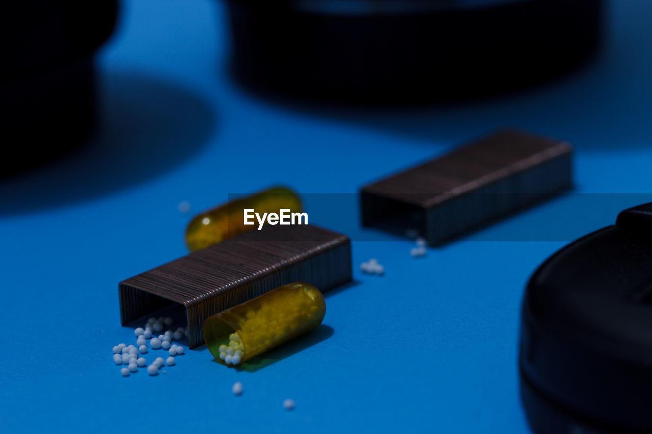 Close-up of pins