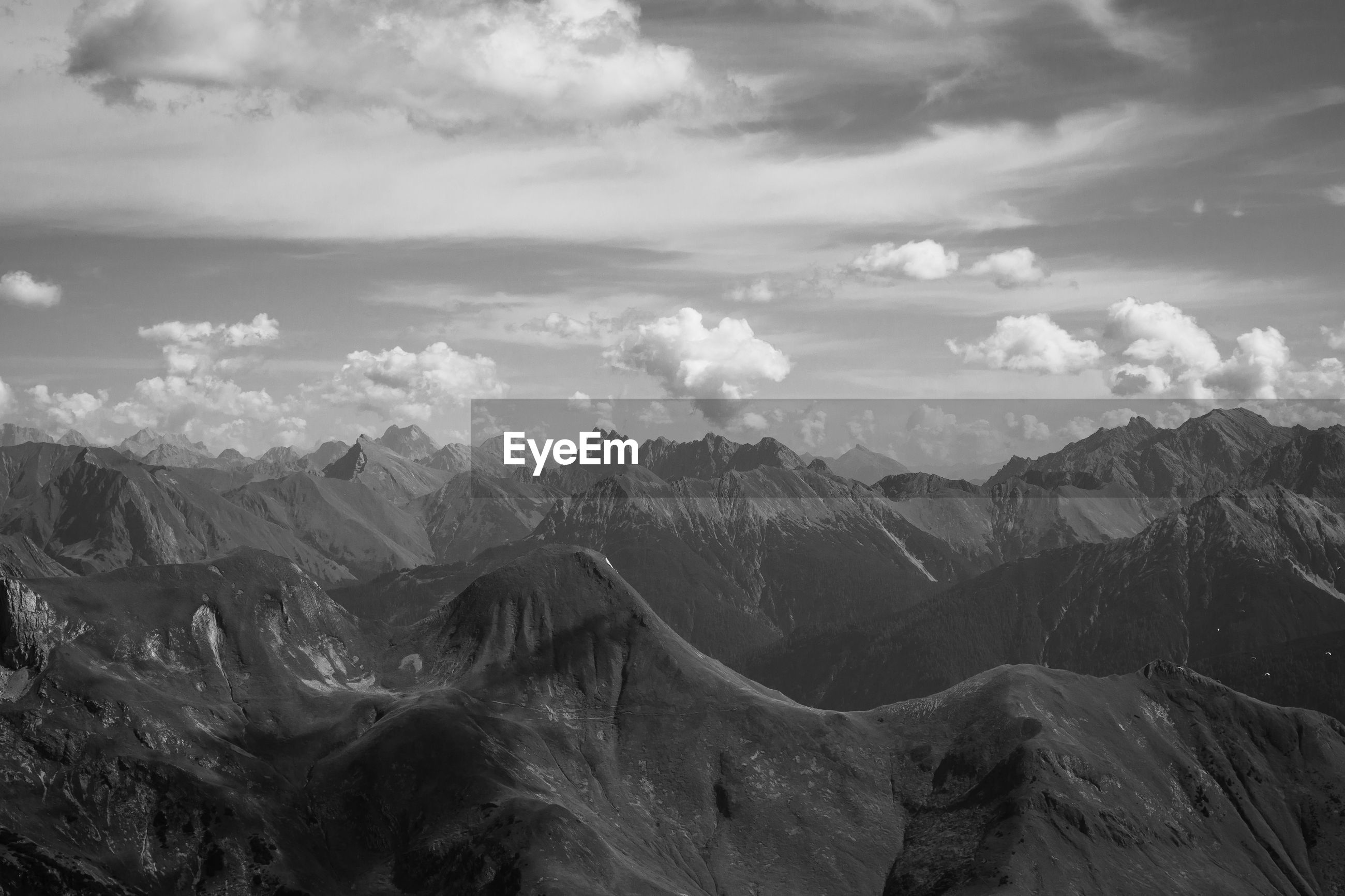 SCENIC VIEW OF DRAMATIC LANDSCAPE