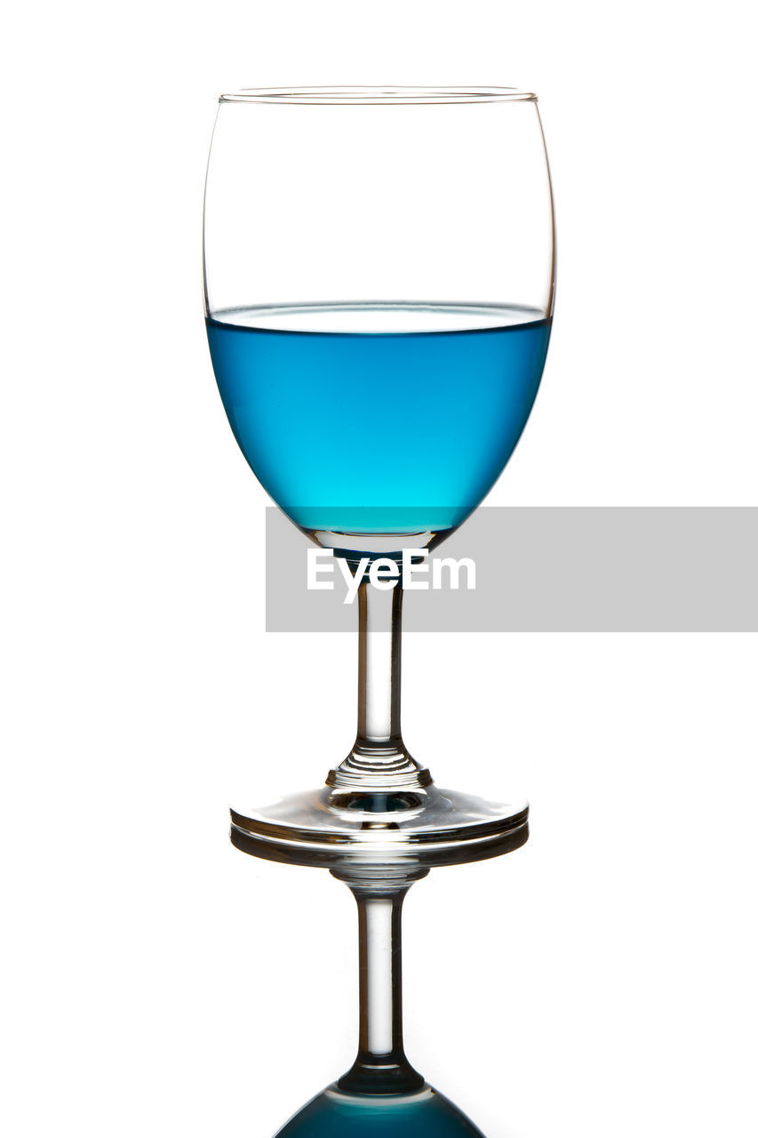 drink, refreshment, glass, food and drink, wineglass, alcohol, white background, studio shot, glass - material, indoors, still life, wine, no people, cut out, transparent, drinking glass, freshness, close-up, single object, copy space, red wine