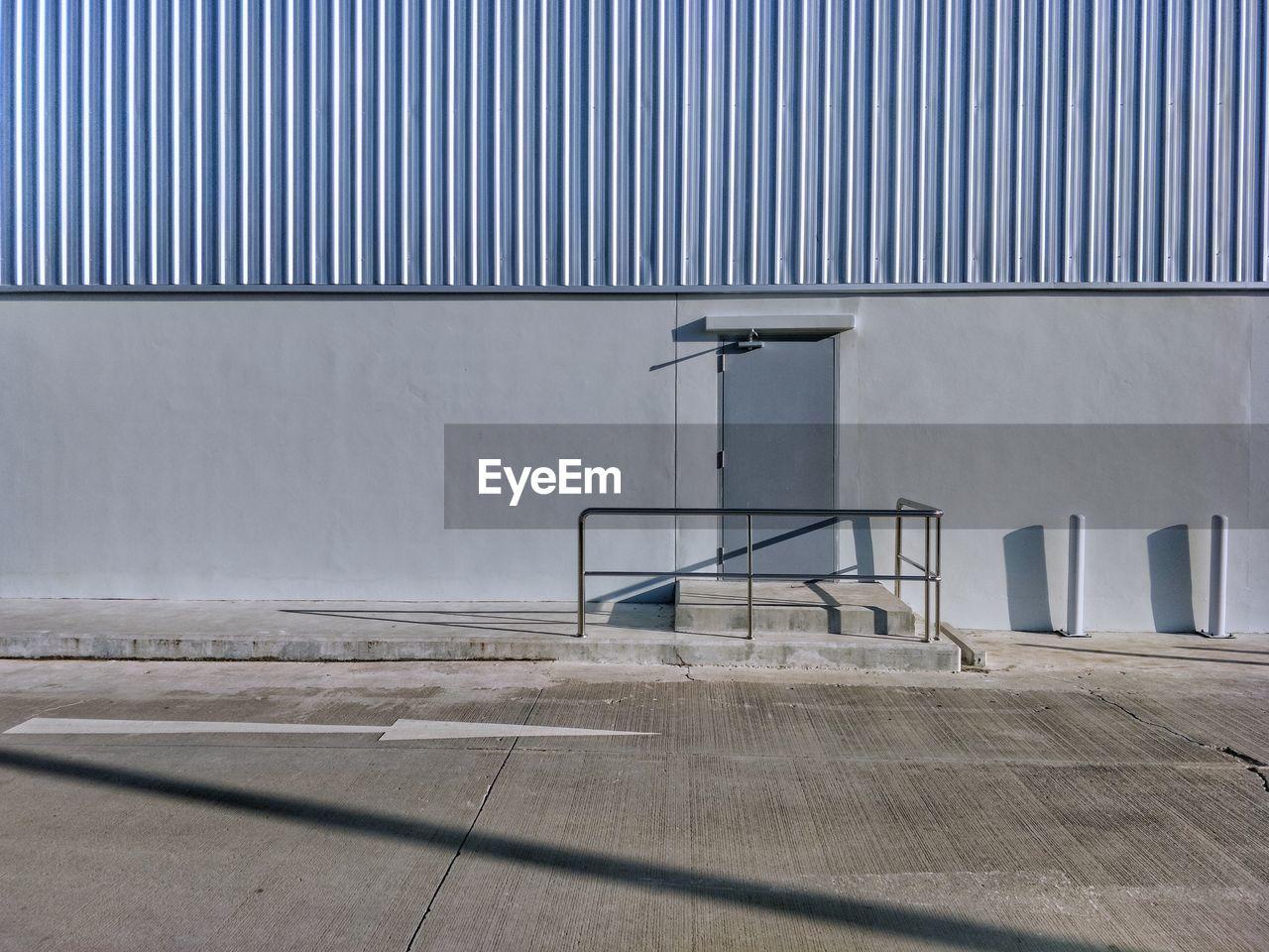 Exterior Of Industrial Building