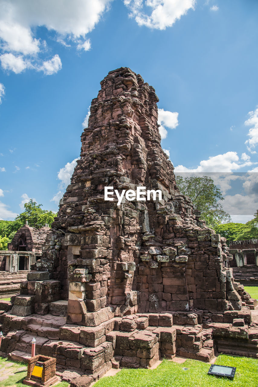 history, the past, sky, architecture, built structure, ancient, travel destinations, place of worship, tourism, religion, old ruin, travel, ancient civilization, day, nature, cloud - sky, building exterior, belief, spirituality, no people, outdoors, archaeology, ruined