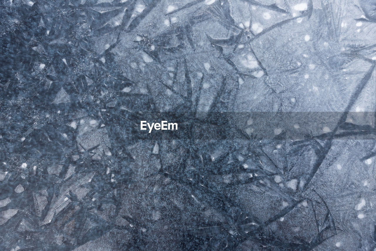 backgrounds, cold temperature, abstract backgrounds, abstract, textured, no people, pattern, winter, ice, close-up, frozen, full frame, snow, nature, gray, crystal, copy space, extreme close-up, blue, silver colored, textured effect, surface level, blizzard
