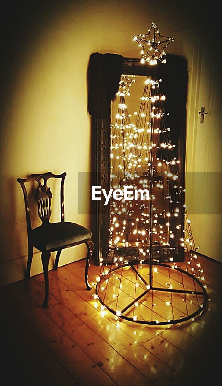 lighting equipment, illuminated, indoors, no people, electricity, christmas lights, technology, close-up, day
