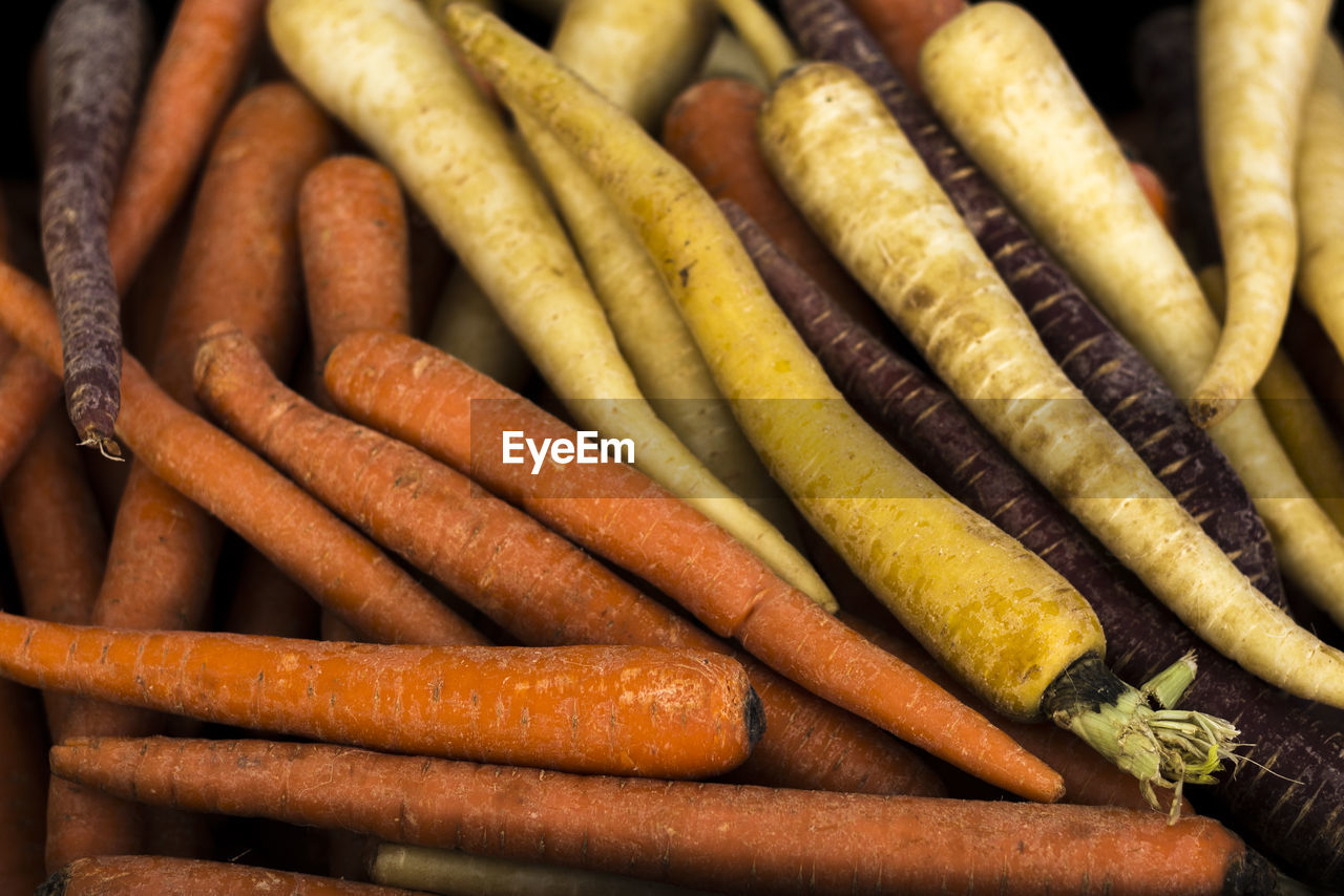 food, carrot, food and drink, vegetable, still life, freshness, root vegetable, no people, large group of objects, indoors, high angle view, close-up, healthy eating, full frame, backgrounds, orange color, wellbeing, abundance, selective focus, day