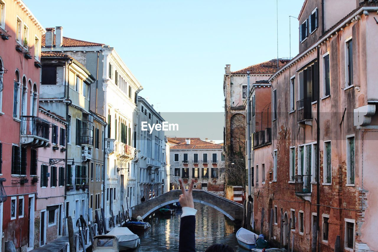 Canal Passing Through Venice