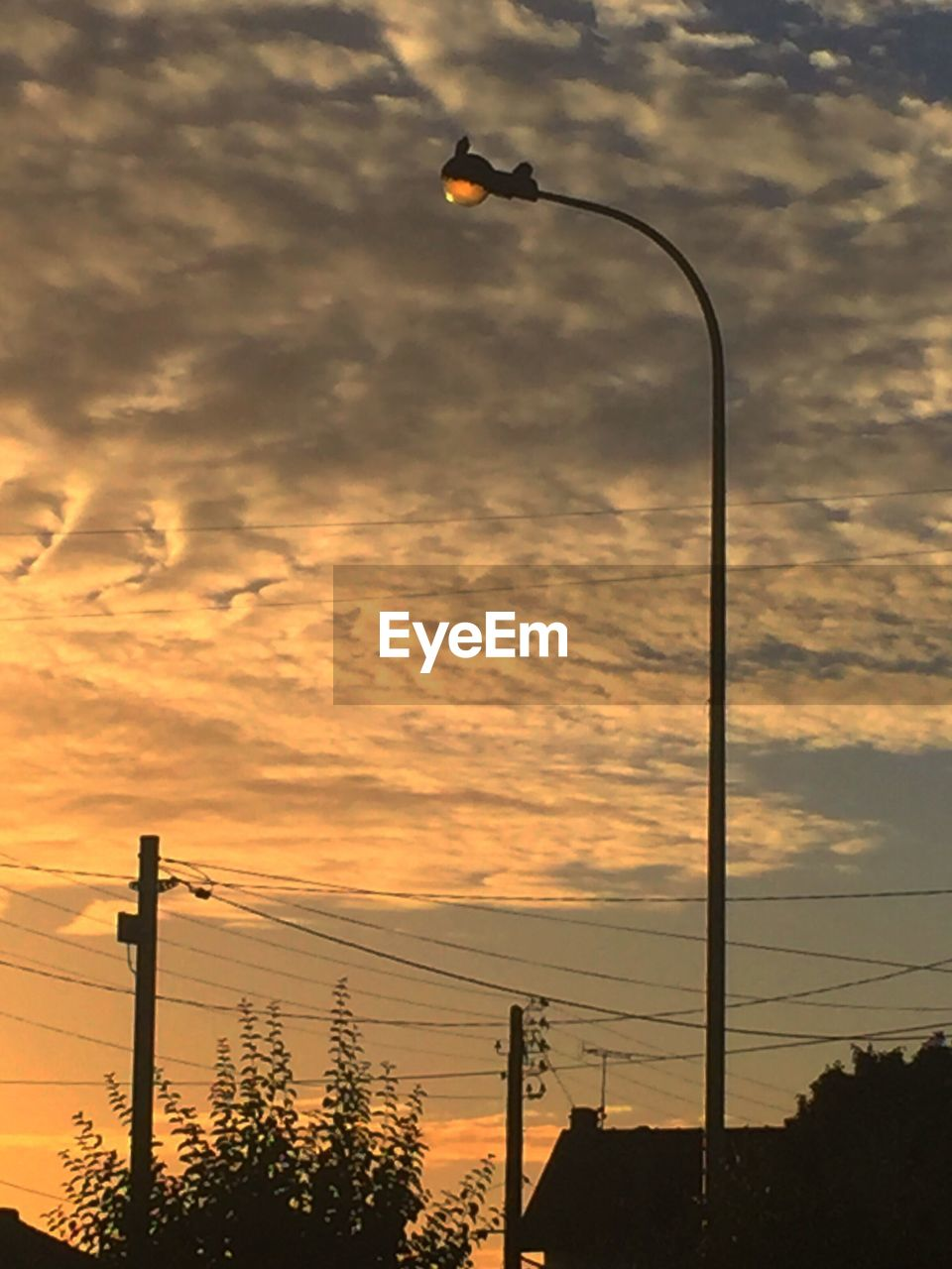 sunset, cloud - sky, sky, silhouette, street light, low angle view, built structure, nature, architecture, outdoors, tree, no people, beauty in nature, building exterior, electricity pylon, day