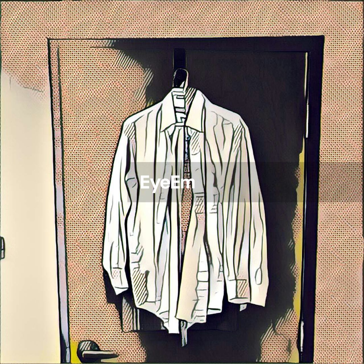 hanging, coathanger, no people, indoors, neat, clothing, variation, fashion, home interior, choice, large group of objects, day, close-up